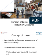 Concept of Losses and Loss Reduction Measures