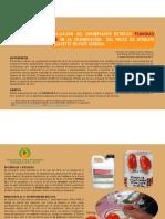 Evaluación del conservador botánico FUNGUS CE en la vida de anaquel del jitomate saladatte