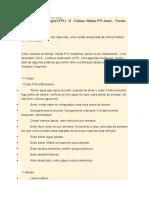 Prática de Vida Integral (PVI) - II - Coluna - Minha PVI Atual – Versão 38