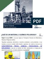 MATERIALES PELIGROSOS  - 2019