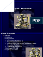P112 Type Hybrid Transaxle Overview