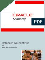 Oracle Database Foundations