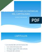 LAS INSTITUCIONES ECONÓMICAS DEL CAPITALISMO