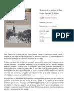 Historia de la iglesia de San Pedro Apóstol de Gijón