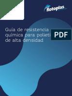 Resistencia química de PEAD - Rotoplas