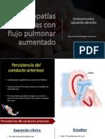 CC con flujo pulmonar aunmentado