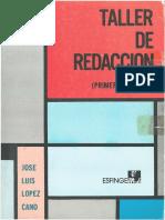 TALLER DE REDACCION - PRIMER SEMESTRE.pdf