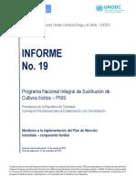 Informe Ejecutivo Pnis Numero 19