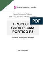 Proyecto Grua Pluma Pórtico P3