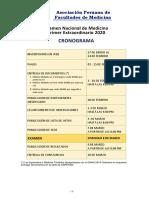 CRONOGRAMA EN AMBOS 2020 EXTRAORDINARIO