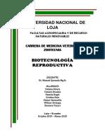 Práctica 1 Examen Andrológico del Reproductor Bovino.