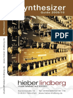 Hieber-Lindberg Synthesizer Guide