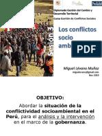 3 Conflictos socioambientales