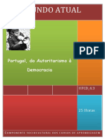 UFCD_6667_Portugal, Do Autoritarismo à Democracia_índice