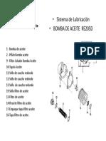 RE205D  Gráfico  BOMBA ACEITE Y FILTROS