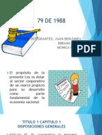 LEY  79 DE 1988 cooprativismo 2020