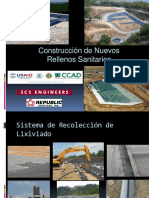 CONTREUCCION DE NUEVOS RELLENOS SANITARIOS  CHIMENEAS