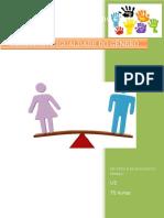 Cidadania e Igualdade Do Género _índice