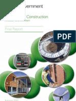 10 1266 Low Carbon Construction Igt Final Report