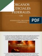 ORGANOS JUDICIALES FEDERALES