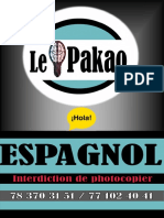 Le Pakao ESPAGNOL Réseau Scolaire