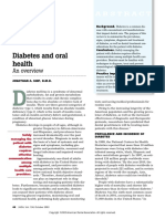 2003 - Diabetes and oral health