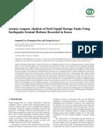 Lee_Seismic_Fragility_Analysis_of_Steel_Liquid_Storage_2019