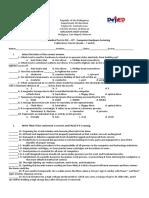 chs periodical test