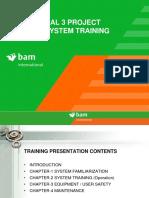 Drainage systemTraining