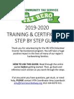 2019-2020 TRAINING GUIDE FNL