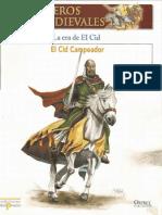 Guerreros Medievales La Era del Cid Osprey Del Prado 2007_text