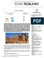 Derecho hereditario en Derecho romano (VI)_ herencia forzosa - Derecho Romano
