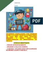DESENVOLVIMENTO CELULA KIDS