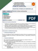 Informe 10 pH