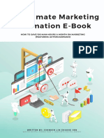 The Ultimate Marketing Automation E-Book