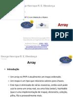 PHP 5.3 - Arrays