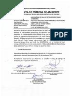 ACTA DE 5TA ENTREGA SALA DE OPERACIONES