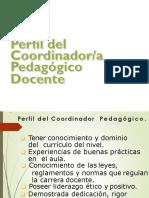 Perfil Del Coordinador Funciones y Tareas
