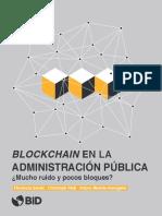 BLOCKCHAIN en la administracioin publica