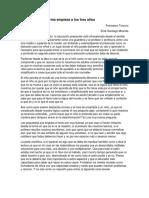 LA VERDADERA REFORMA EDUCATIVA COMIENZA A LOS 3 AÑOS RESUMEN