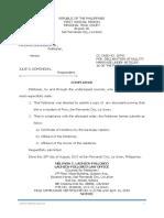 Paterno Domondon Jr.(Compliance)