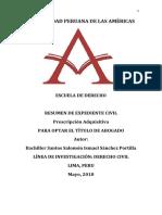 EXPEDIENTE CIVIL - PRESCRIPCIÓN ADQUISITIVA.pdf