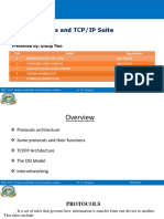 Lec # 6 -Protocols and TCP IP Suite-Group 2