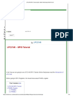 LPC2148 GPIO Tutorial (LED, Switch Interfacing) _ EmbeTronicX