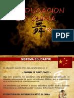 LA EDUCACION EN CHINA