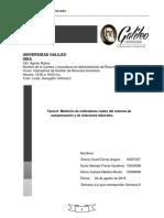 TAREA 6 - MEDICION DE INDICADORES DE COMPENSACIÓN
