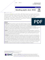 Perforated and bleeding peptic ulcer_ WSES guidelines