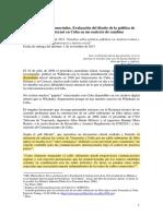 """La hora de los desconectados. Evaluación del diseño de la política de """"acceso social"""" a Internet en Cuba en un contexto de cambios"""