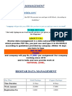 BIOSTAR DATA PROJECT AND ACCOUNT DETAILS..docx