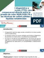2. Sensibilidad Diganostica y Tiempo Deteccion TTD - Lenin Bernaola
